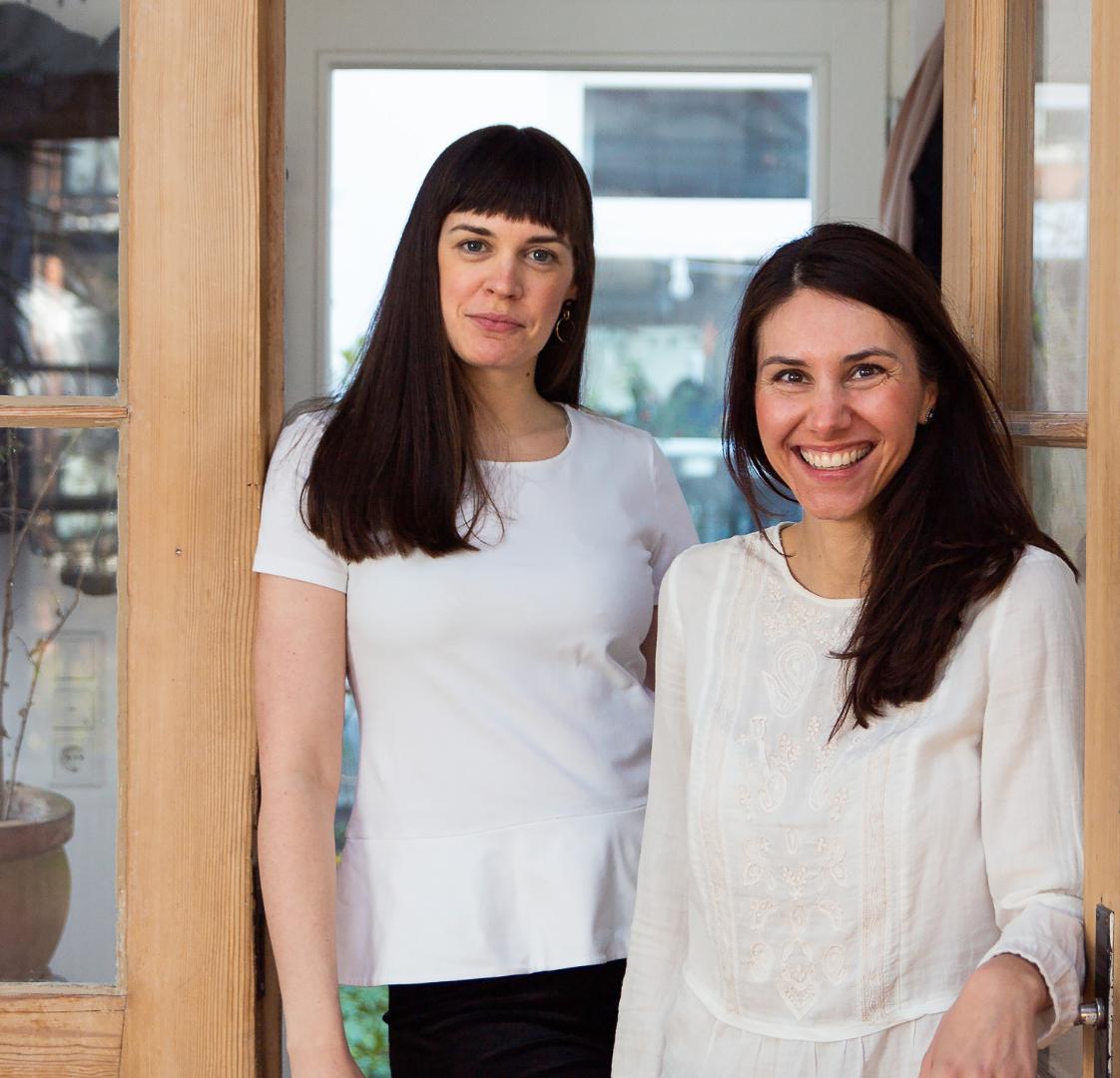 Lena Kuhlmann (l.) & Claudia Schnackenberg (r.)